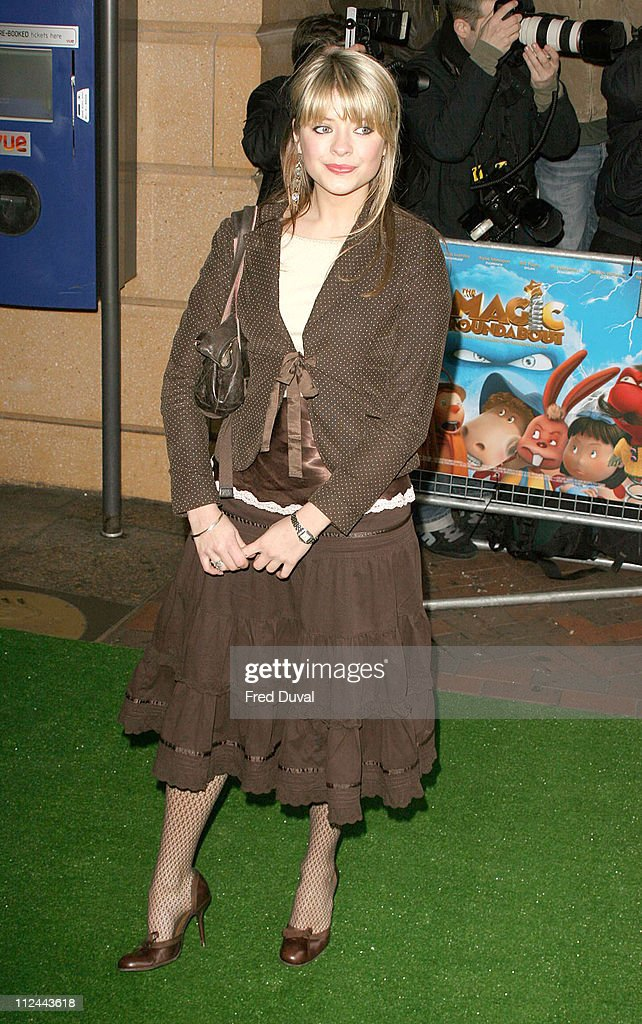 Holly Willoughby during 'The Magic Roundabout' Premiere Arrivals at Vue West End in London United Kingdom