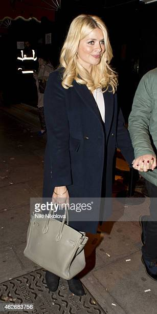 Holly Willoughby is seen leaving KoKo Camden on February 2 2015 in London England