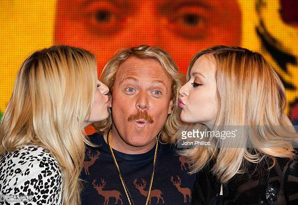 Holly Willoughby Leigh Francis and Fearne Cotton attend the DVD signing for 'Celebrity Juice Too Juicy For TV 2' at HMV Oxford Street on November 22...