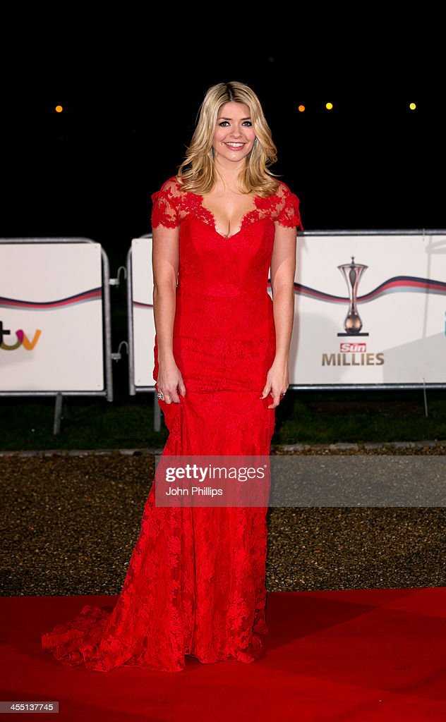 Holly Wiloughby attends The Sun Military Awards at National Maritime Museum on December 11, 2013 in London, England.
