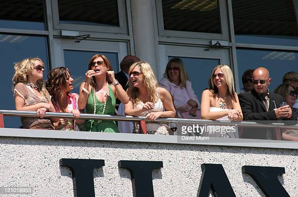 Hollyoaks during 32Redcom Paddy Power Football Furlong July 16 2006 at Haydock Park Racecourse in NewtonleWillows Great Britain