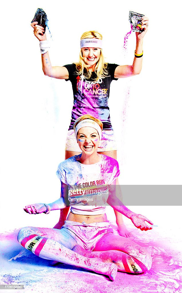Hollyoaks stars Lucy Dixon and Diane OConnor show a little goes a long way, as they get colourful in preparation for The Color Run to support Stand Up To Cancer. The cast of Hollyoaks have come together to support Stand Up To Cancer by taking part in The Color Run presented by Dulux.