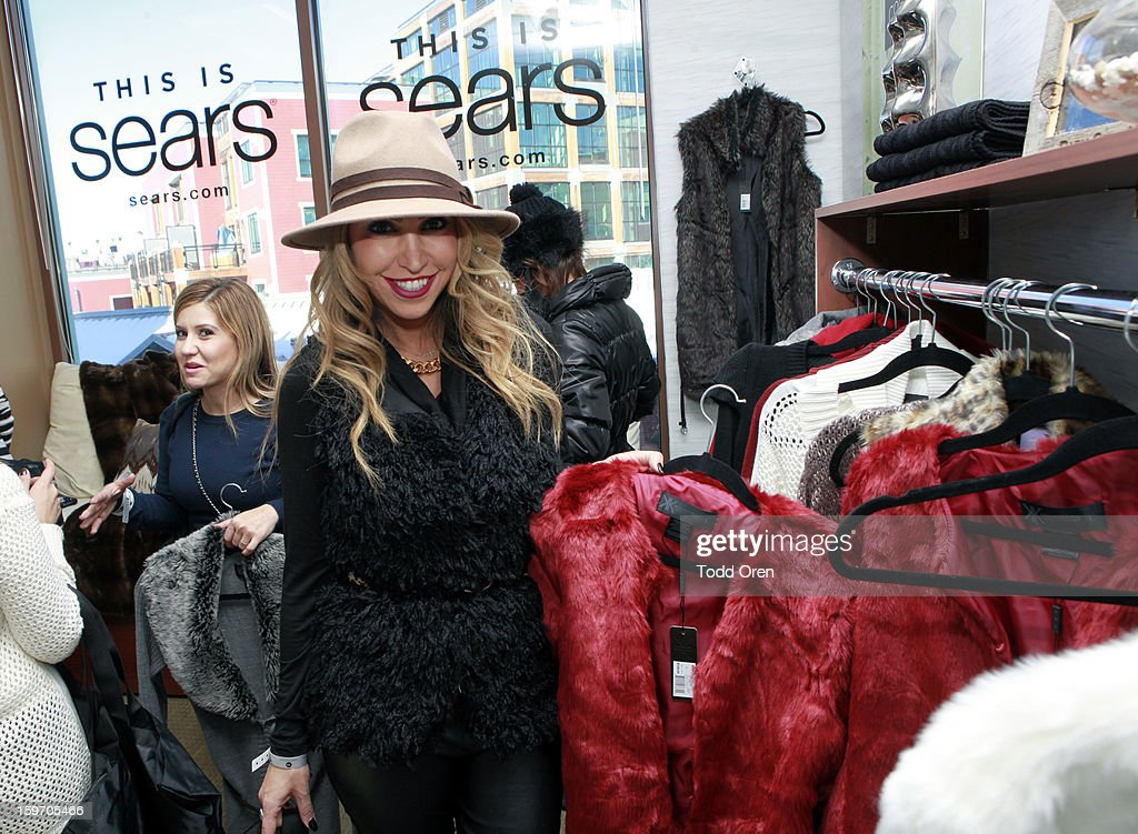 Hollyscoop Host Diana Madison attends Sears Shop Your Way Digital Recharge Lounge on January 18, 2013 in Park City, Utah.
