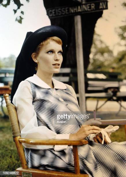 Hollywood Actress Mia Farrow In the film 'Rosemary's Baby' 1968