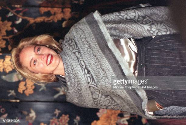 Hollywood actress Sharon Stone at The Dorcehster Hotel London where she held a news conference to discuss her latest movie Casino Stone appears with...