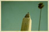 Hollywood Art Deco Building Postcard