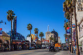 Hollywood Boulevard - Hollywood in Los Angeles - USA
