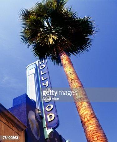 Hollywood Boulevard, Los Angeles : Stock Photo