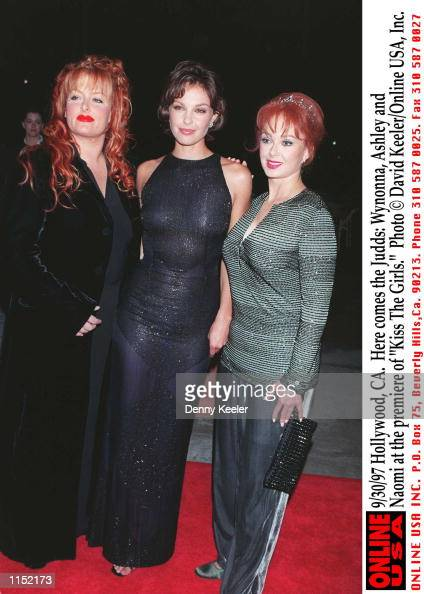 Wynonna Ashley and Naomi at the premiere of 'Kiss The Girls'