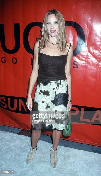 Hollywood CA Sarah Buxton of 'Sunset Beach' at The Pool for the Hugo Boss store opening Photo by Brenda Chase Online USA Inc