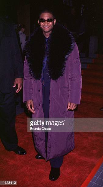 11/01/99 Hollywood CA Usher at his 'twenty first' Birthdate party Photo by Brenda Chase Online USA Inc