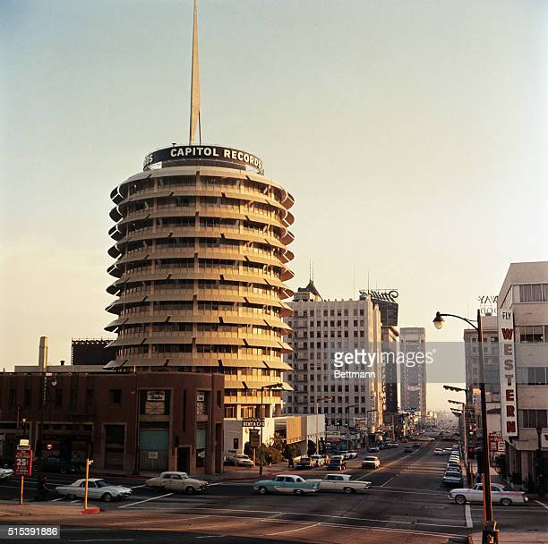 View of Capitol Records Building