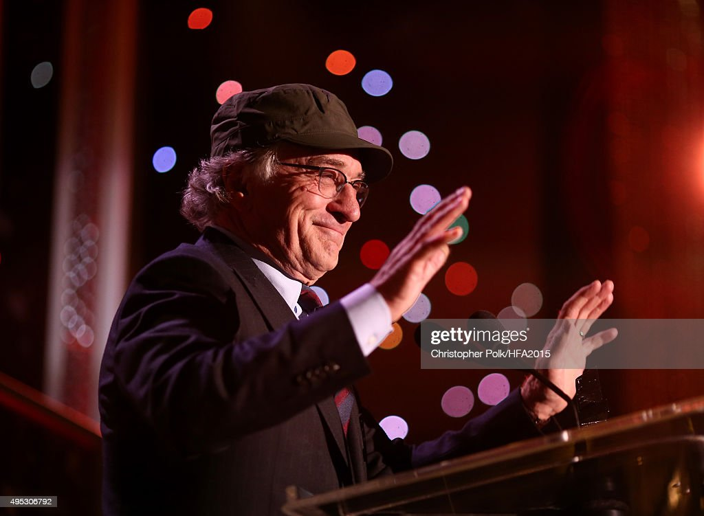 Hollywood Career Achievement Award honoree Robert De Niro speaks onstage during the 19th Annual Hollywood Film Awards at The Beverly Hilton Hotel on November 1, 2015 in Beverly Hills, California.