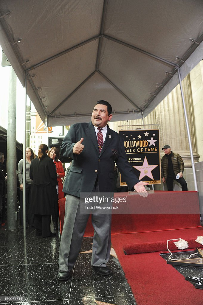 LIVE - Hollywood Chamber of Commerce honored Jimmy Kimmel with a star on the Hollywood Walk of Fame today, Friday, January 25, at 11:30 a.m. at 6840 Hollywood Boulevard in front of the El Capitan Entertainment Centre where his show resides. RODRIGUEZ