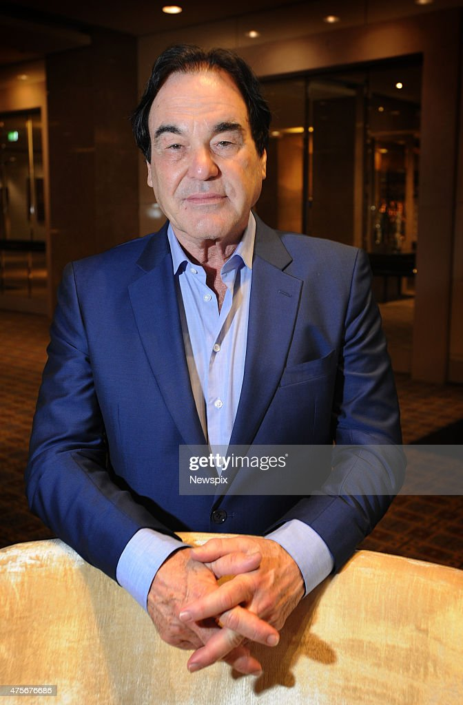 Director Oliver Stone At Crown Casino In Melbourne