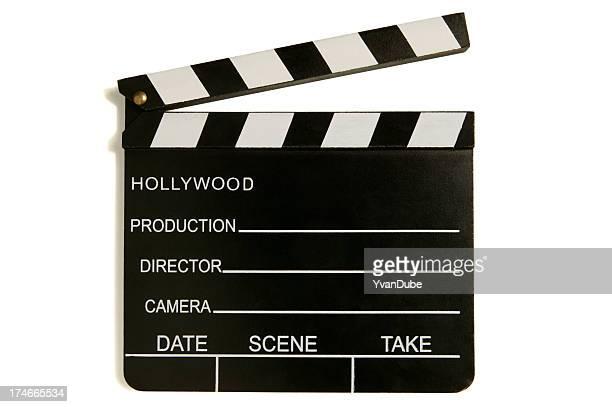 Claquete de Cinema de hollywood (com Traçado de Recorte