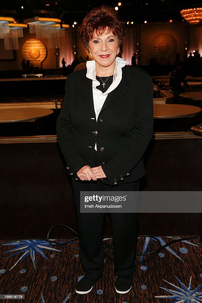 Hollywood Foreign Press Association (HFPA) President Dr. Aida Takla-OÕReilly attends the 70th Annual Golden Globe Awards preview day at The Beverly Hilton Hotel on January 11, 2013 in Beverly Hills, California.