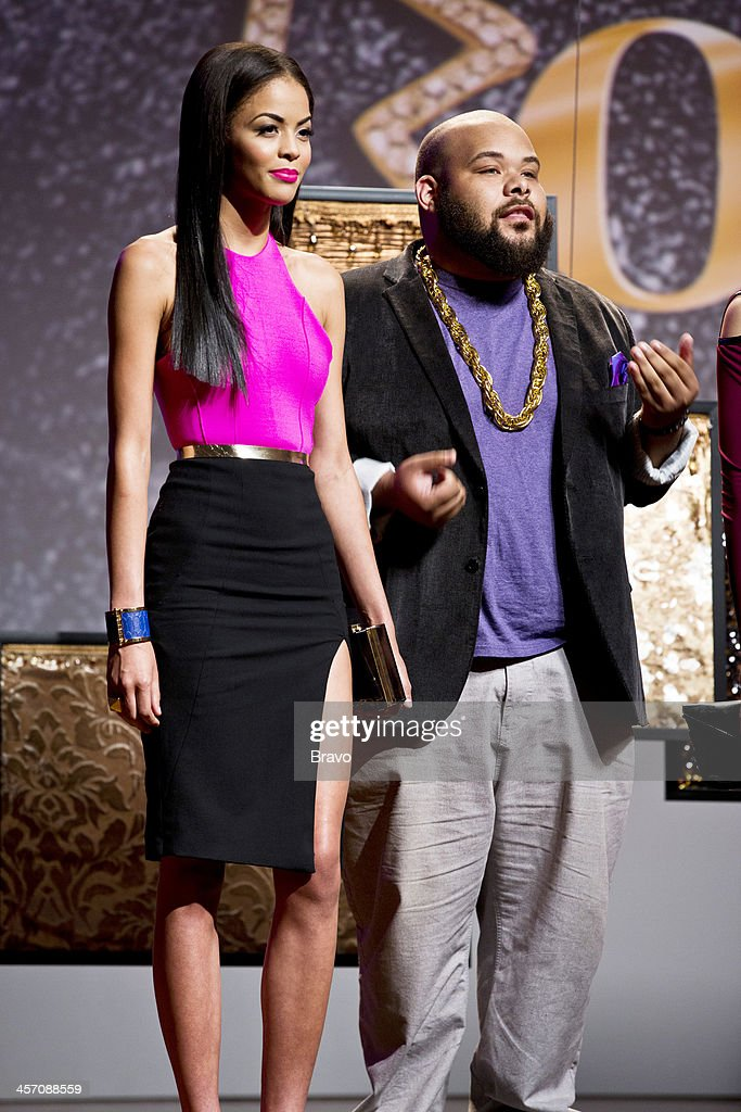 ROCK 'Hollywood Glam for Khloe' Episode 108 Pictured Model contestant Sergio Hudson