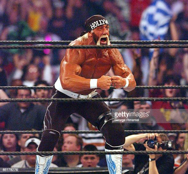 Hollywood Hulk Hogan at Wrestlemania X8