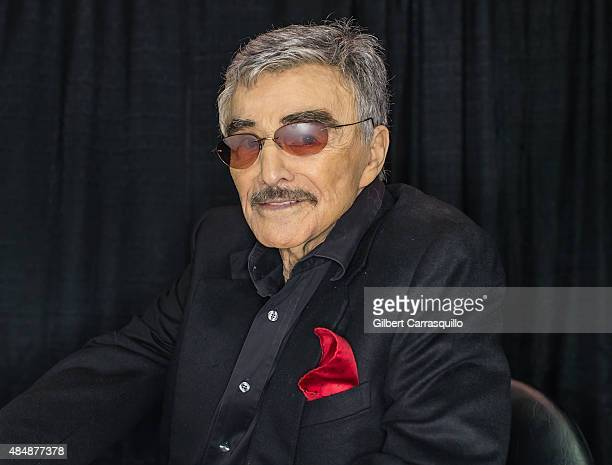 Hollywood Icon/actor Burt Reynolds attends Wizard World Comic Con Chicago 2015 Day 3 at Donald E Stephens Convention Center on August 22 2015 in...