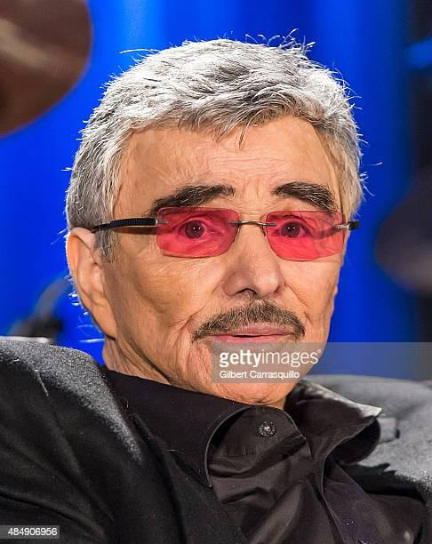 Hollywood Icon/actor Burt Reynolds on stage during Wizard World Comic Con Chicago 2015 Day 3 at Donald E Stephens Convention Center on August 22 2015...