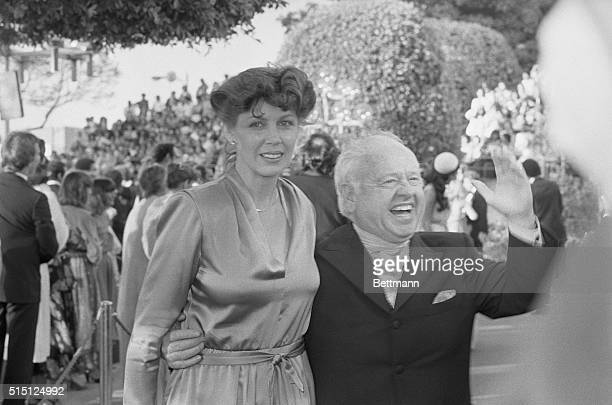 Hollywood Los Angeles California Actor Mickey Rooney a sentimental favorite to win an Oscar in the supporting role category for his role in The Black...