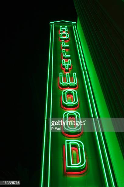 Hollywood in Neon