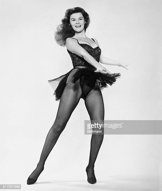 Hollywood newcomer AnnMargret shows a dance routine to show off her shapely limbs Although she appears voluptuous here Ann Margaret intended to...