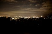 Hollywood panorama from Griffith Park