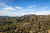 LOS ANGELES, USA - January 07, 2017:  Hollywood Sign - Los Angeles, California, USA