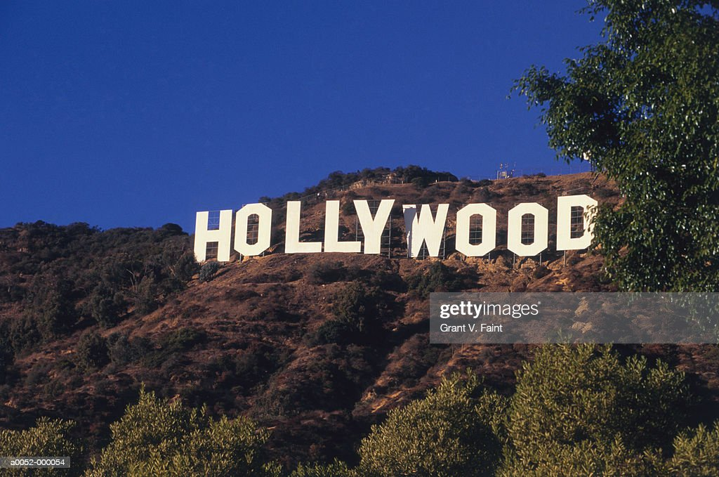 Hollywood Sign : Stock Photo