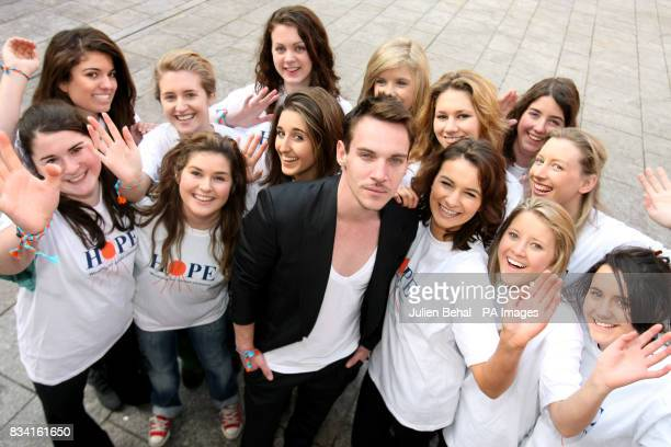Hollywood star Jonathan RhysMeyers meets svolunteers from Alexandra College Milltown as he revealed his plans to champion the rights of children...
