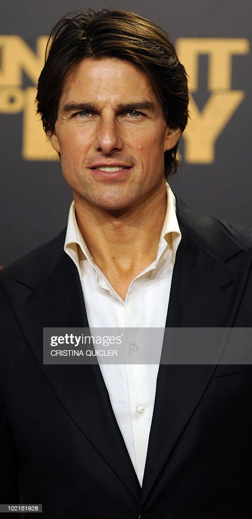 Hollywood star Tom Cruise poses on the red carpet for the international film premiere of his new film 'Knight and Day' by US director James Mangold in Sevilla on June 16, 2010. Cruise, 47, filmed key scenes of the action-comedy movie in Seville as well as in the nearby coastal city of Cadiz last year.