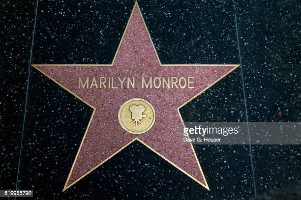 Hollywood Walk of Fame Star for Marilyn Monroe