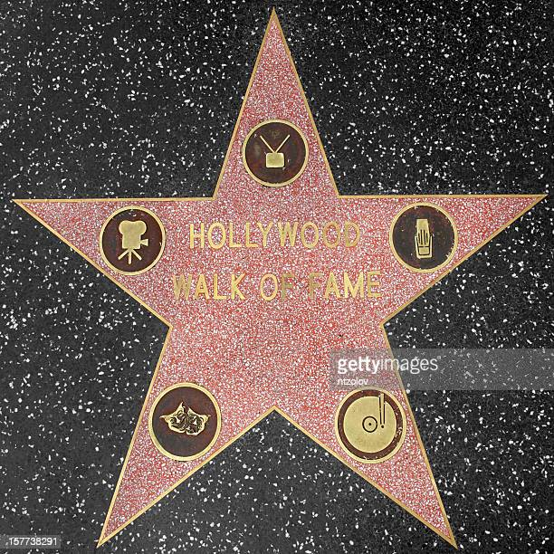 Hollywood Walk of Fame-Sterne