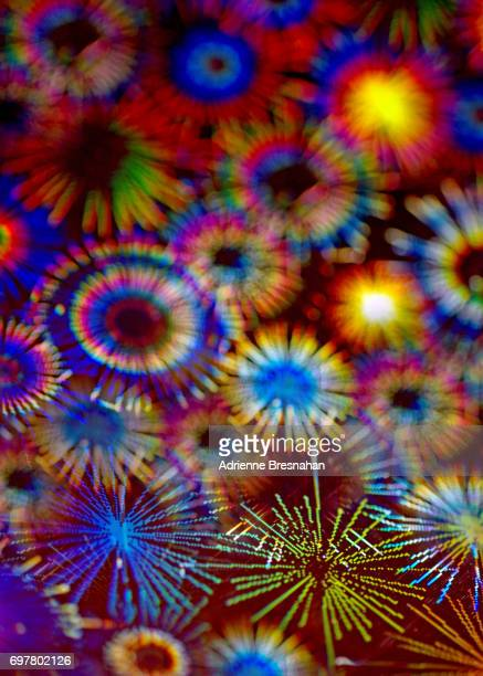 Holographic Fireworks