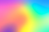 Holographic neon background. Abstract blurred holographic wallpaper background.