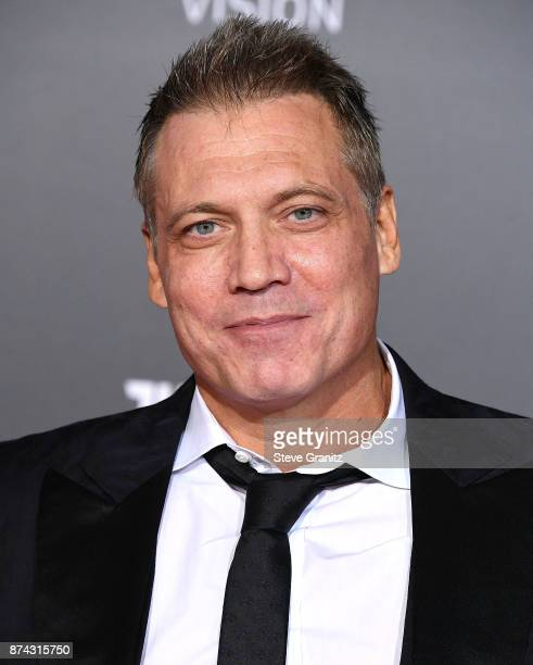 Holt McCallany arrives at the Premiere Of Warner Bros Pictures' 'Justice League' at Dolby Theatre on November 13 2017 in Hollywood California