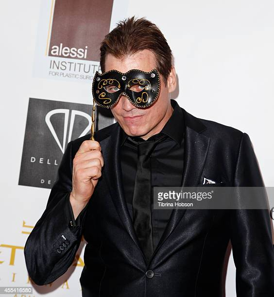 Holt McCallany attends the Face Forward gala supporting victims of domestic abuse at Millennium Biltmore Hotel on September 13 2014 in Los Angeles...