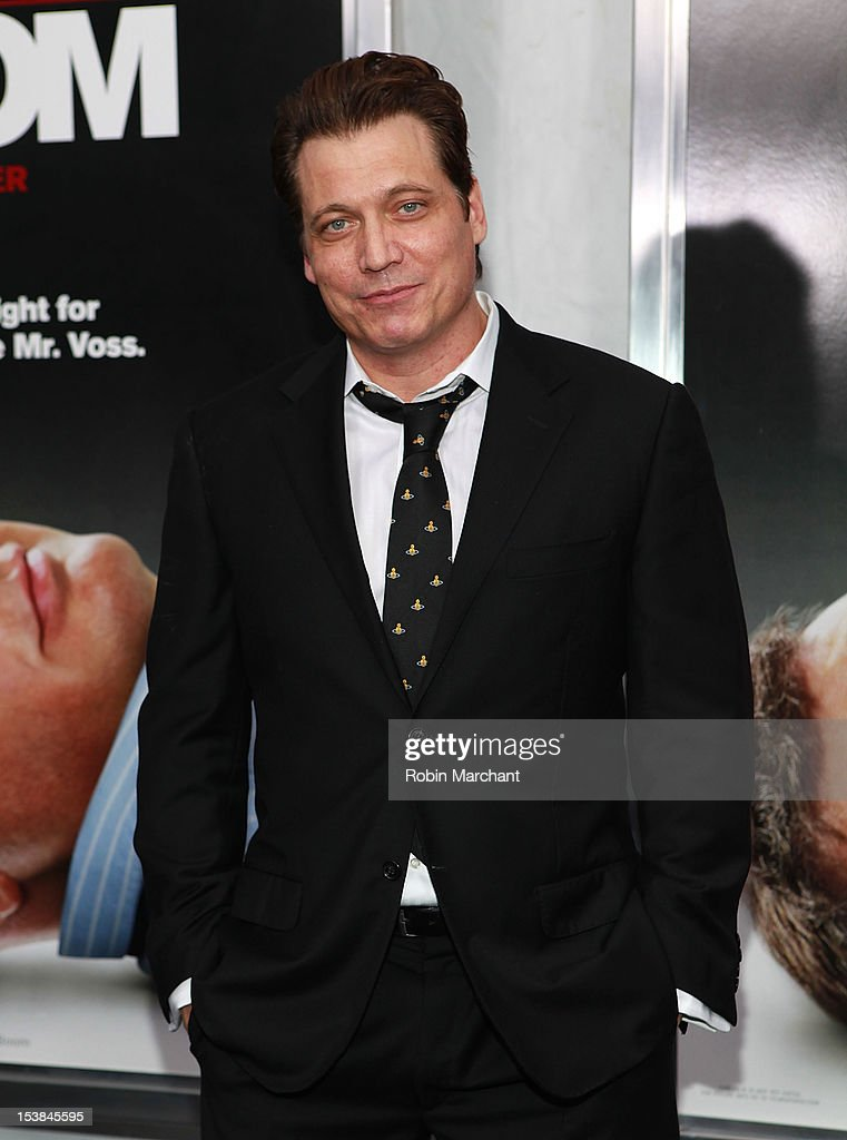 Holt McCallany attends the 'Here Comes The Boom' premiere at AMC Loews Lincoln Square on October 9, 2012 in New York City.