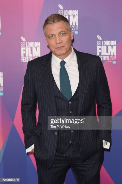 Holt McCallany attends the LFF Connects Special Presentation 'Mindhunter' European Premiere during the 61st BFI London Film Festival on October 10...