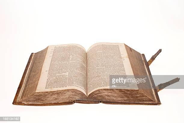 Holy Bibel offenen Seiten von 164