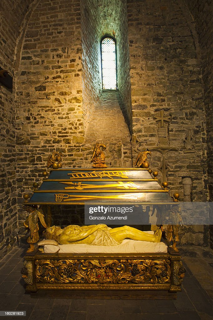 Holy Blood Basilica in Bruges. : Stock Photo