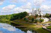 Holy Dormition Cathedral on the Uspenskaya mountain above the Western Dvina, Vitebsk