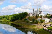Holy Dormition Cathedral on the Uspenskaya mountain above the Western Dvina, Vitebsk