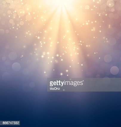 Holy light on gold : Stock Photo