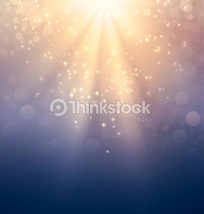 Holy light on gold : Stock Photo