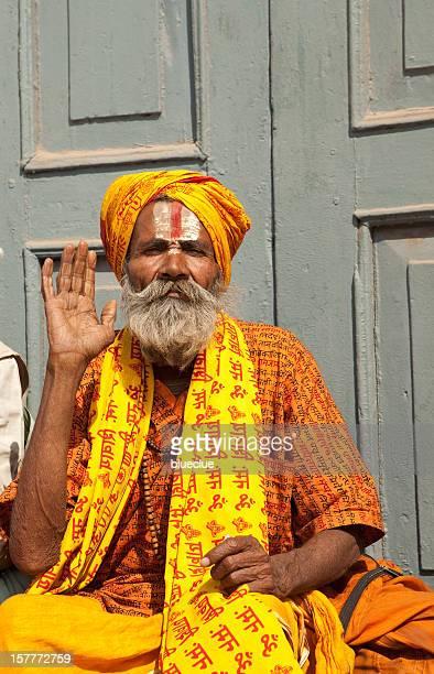 Holy Man in Kathmandu, Nepal