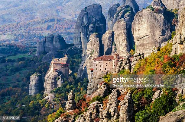 Holy monasterys in Meteora