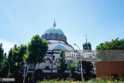Holy Resurrection Cathedral in Tokyo, Japan : Stock Photo